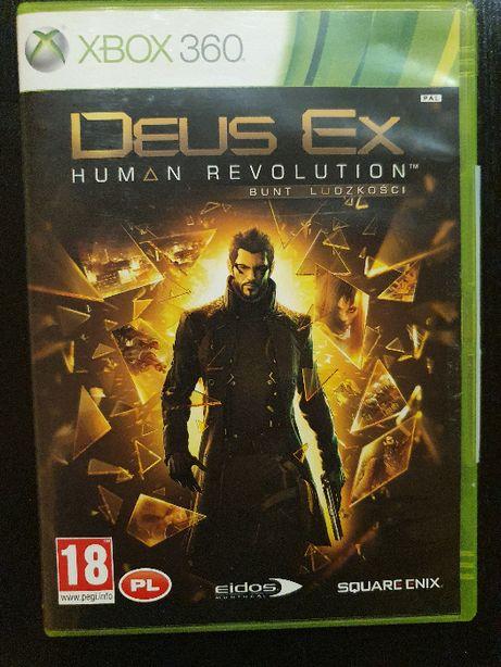Deus Ex: Bunt Ludzkości XBOX 360 Deus Ex: Human Revolution