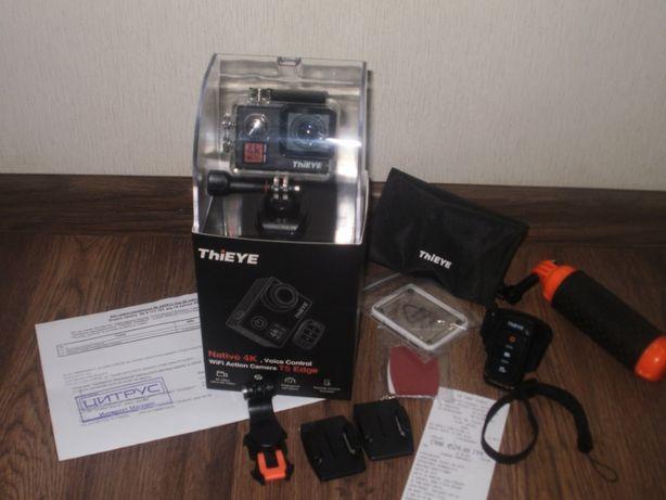 Экшн камера ThiEYE T5 Edge + Поплавок-рукоятка + карта памяти 16GB
