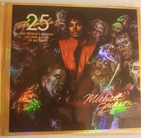 Album DVD Michael Jackson Thriller