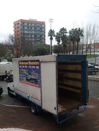 Mudanças Monteiro com Elevador Exterior