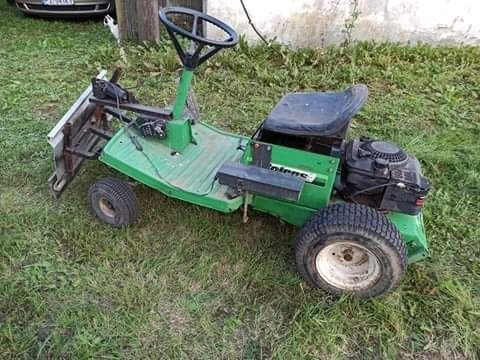 Traktorek spych.