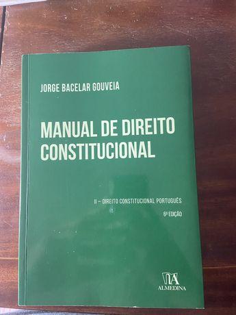 MANUAL DE DIREITO CONSTITUCIONAL II