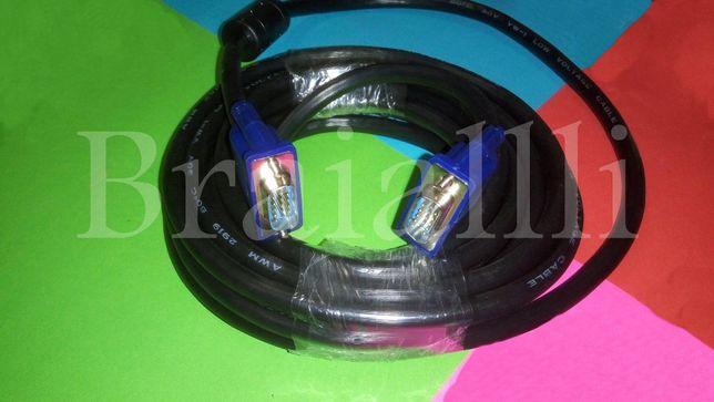 КАБЕЛЬ VGA- VGA 5м шнур для монитора проектора телевизора с VGA входом