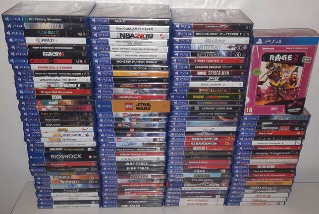Jogos Ps4 Originais Novos & Usados (venda individual)