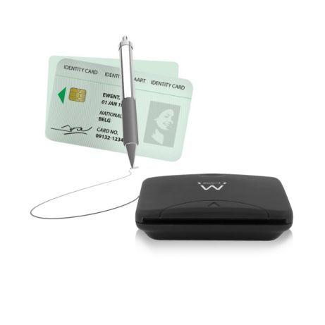 Leitor de Cartão do Cidadão USB-NOVO, 5 Anos Garantia 100% Compativel