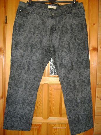 spodnie z wzorem 46 miss etam
