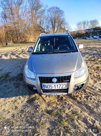 Fiat sedici 4x4napęd skóra