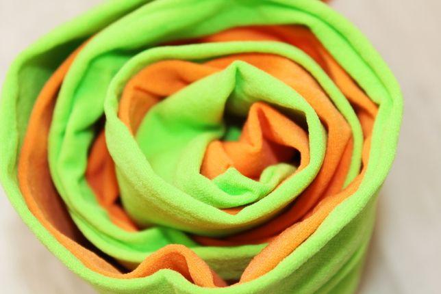 Капронки. Двухцветные колготки