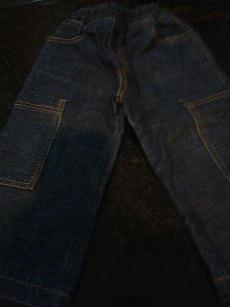 Calças ganga forradas