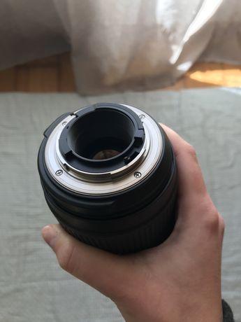 Objectiva Tamron e filtro para Nikon