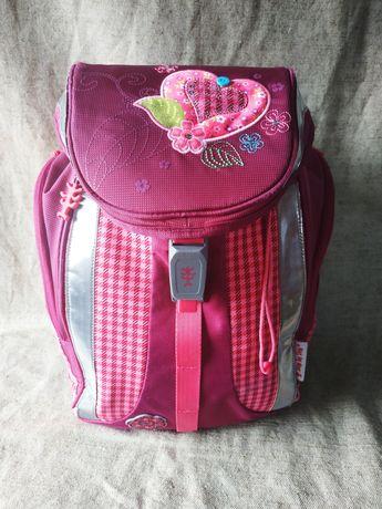 Фирменный Ранец школьный ортопедический рюкзак Step by Step для девочк