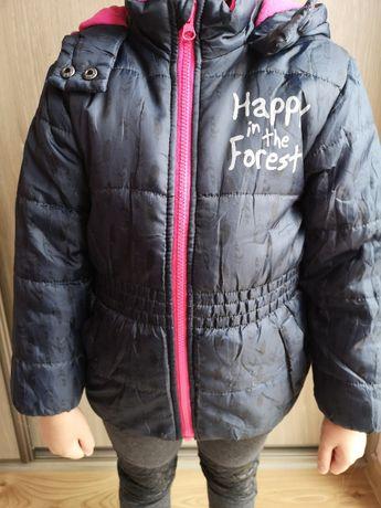 kurtka zimowa lupilu dziewczynka rozmiar 116