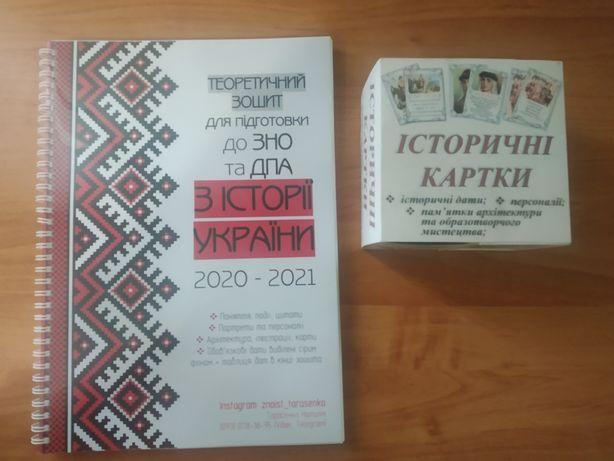 ЗНО Історія України 2021 та Історичні картки з датами, персоналіями