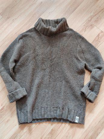 Sweter golf owersize vintage.
