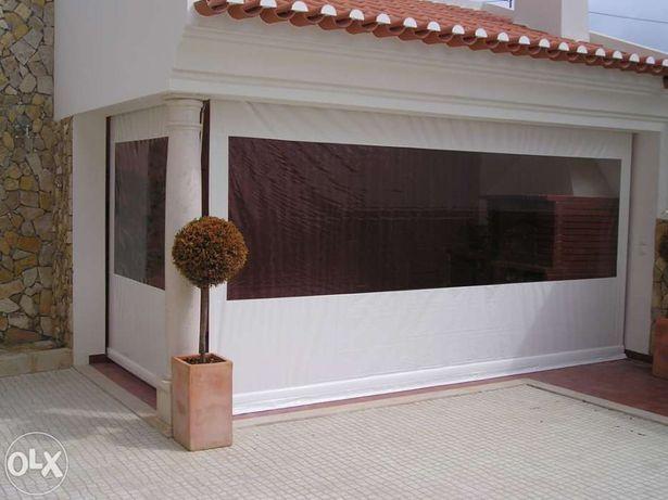 Toldo Vertical para varanda ou alpendre de jardim