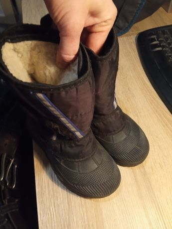 Резиновые сапоги с утеплителем