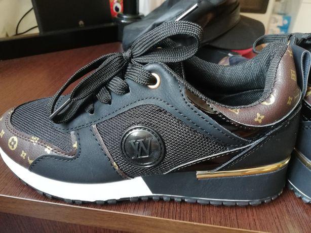 Sneakersy damskie, buty sportowe 37
