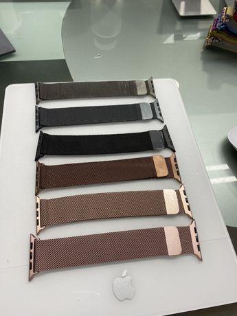 Bracelete Milanesa Apple Watch 42/44mm Novo