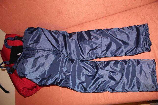 Spodnie narciarskie dziecięce, stan idealny