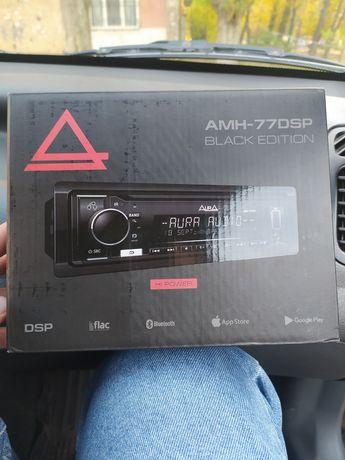 Процессорная магнитола AURA AMH-77DSP Black Edition