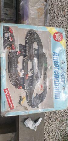 Stary tor samochodowy Autorennbahn 4-spur good play
