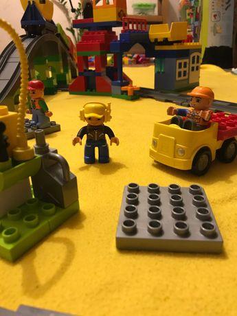 Лего Дупло 10508 Железная дорога Lego Duplo залізниця Оригiнал