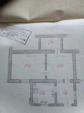 Продається 3-х кімнатна квартира 60м2