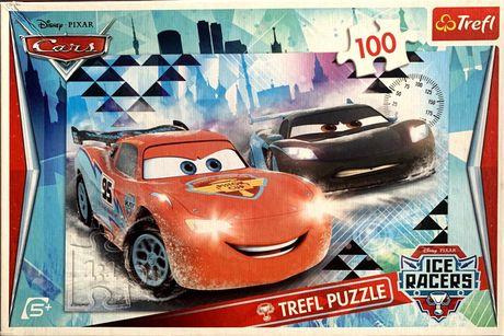 Puzzle, Trefl, Disney Pixar, Cars, 100 elementów, 5+.