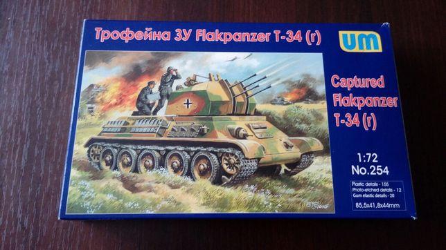 T-34 (r) plastikowy model do sklejenia 1:72 UM