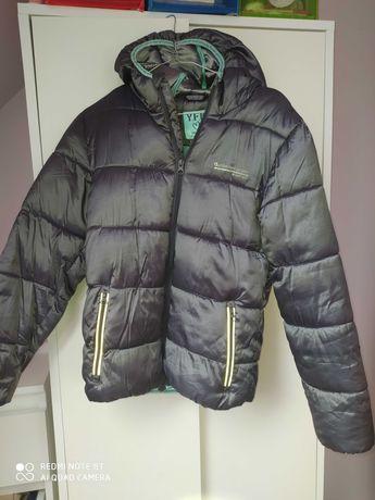 Szara jesienna kurtka