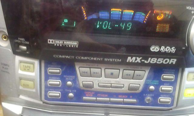 Wieża JVC mx-j850r