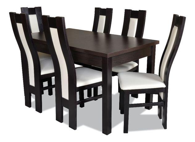 Zestaw do jadalni Z42 - stół + 6 krzeseł