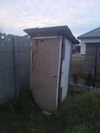 WC na budowę, dzialke