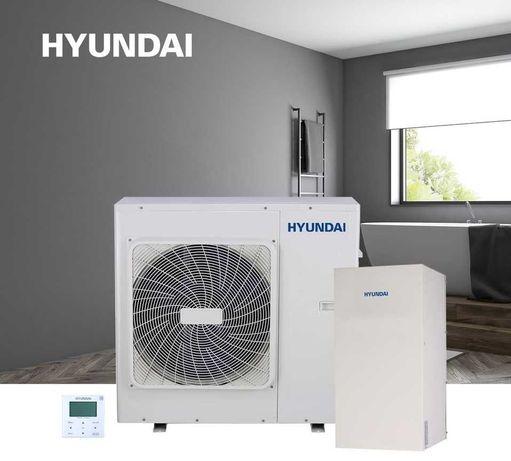 Pompa Ciepła Hyundai 65°C z montażem! CO + CWU. Klasa A+++