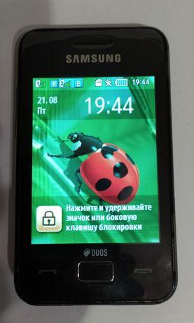 Samsung Star 3 Duos GT-S5222 черный