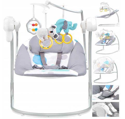 Кресло-качалка качелька укачивающий центр Kinderkraft Minky Flo