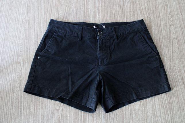 Czarne spodenki orsay (36)