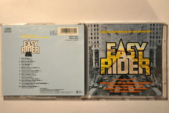 Soundtrack Easy Rider CD