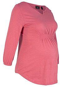 Bluzka ciążowa rękaw 7/8 różowa + gratis! rozmiar 38