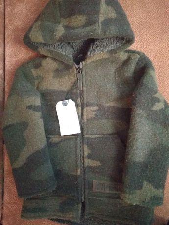 Пальто Zara Новое, куртка кофта теплая 104-110