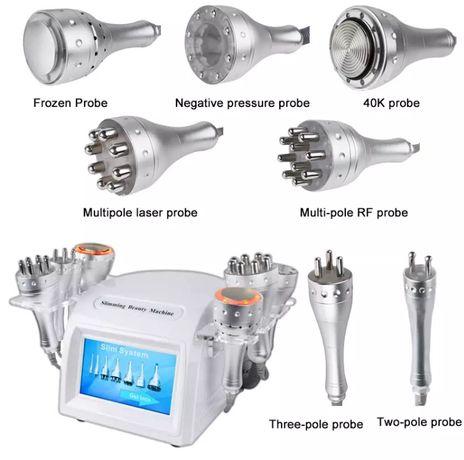Профессиональный аппарат 7в1 Кавитации,RFЛифтинг,Вакуум,Лазер,КРИО