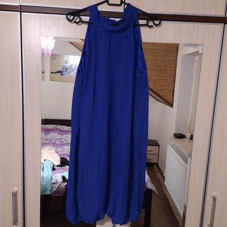 Granatowa sukienka r. 42