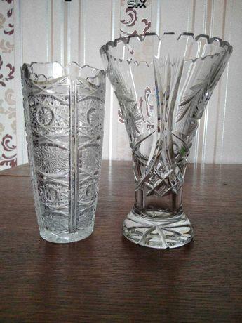 вазы хрустальные