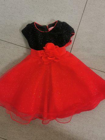 Sukienka r. 80 zestaw
