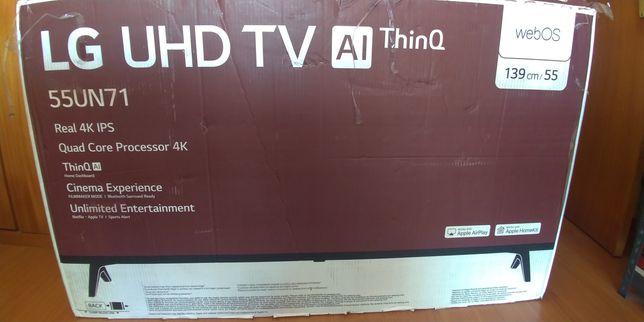 Smart TV LG 55un71006 (ecrã partido)