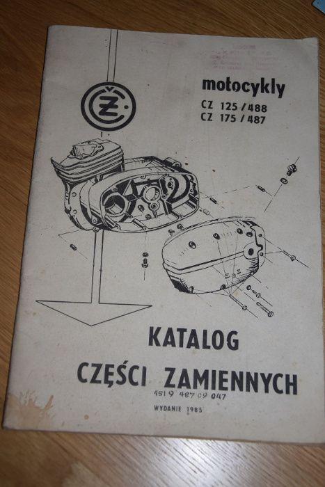 Katalog instrukcja CZ wsk wfm shl mz komar romet Mstów - image 1