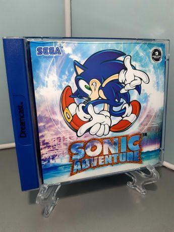 Jogo Sonic Adventure para a SEGA Dreamcast (1999)