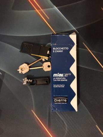Segredo da dierre + conjunto de 3 chaves