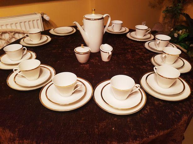 Zestaw kawowy -deserowy porcelanowy Winterling Bawaria.