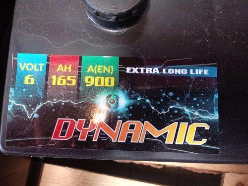 Akumulator 165AH DYNAMIC